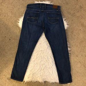 Lucky Brand sienna cigarette skinny jeans dark